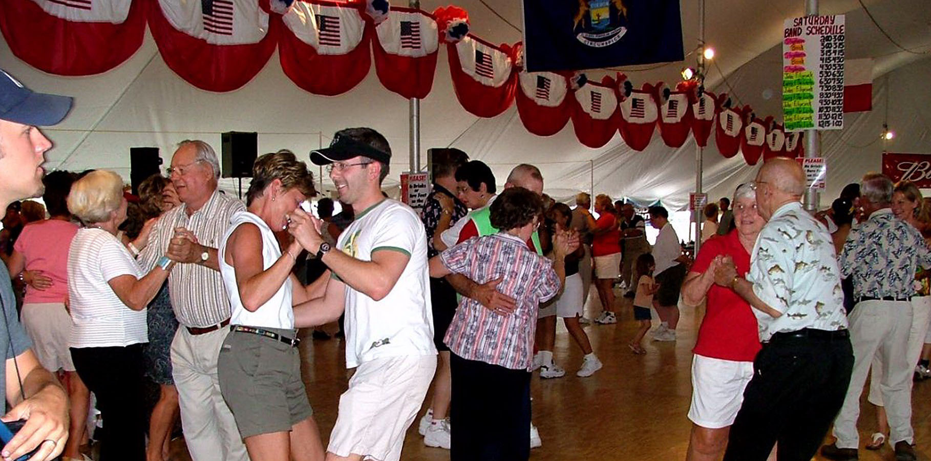 Public Dancing at Cedar Polka Fest