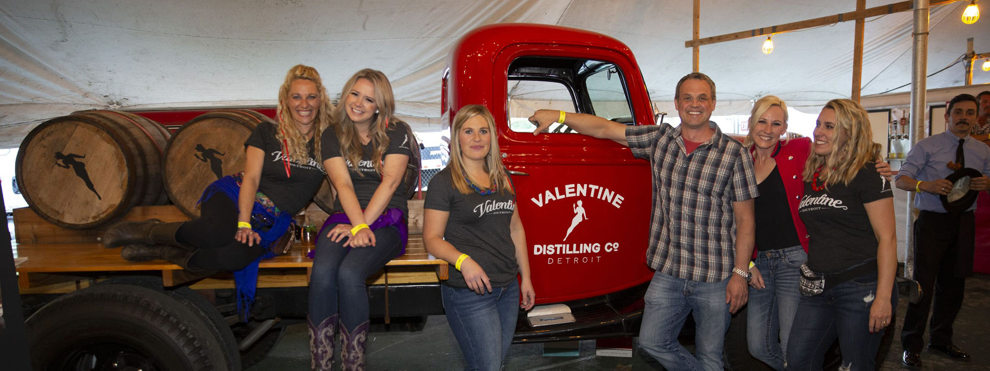 Valentine Distilling Co at Cedar Polka Fest