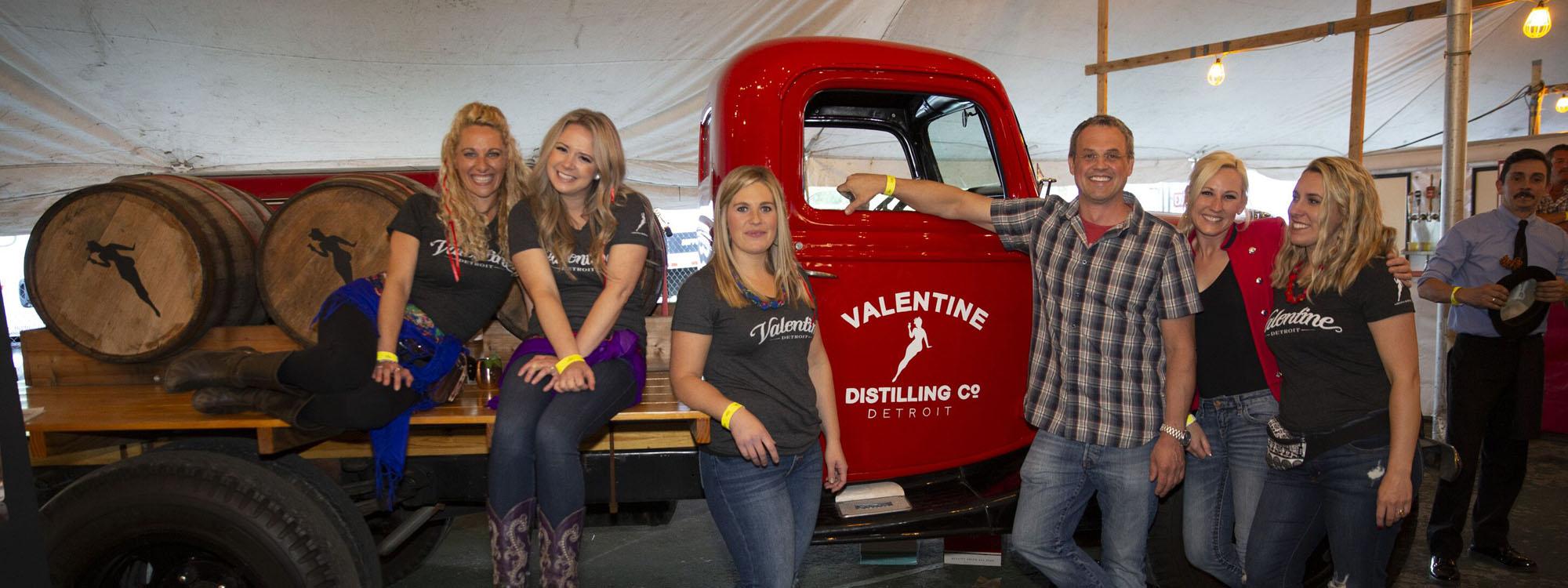 Valentine Distilling Co at Cedar Polka Fest