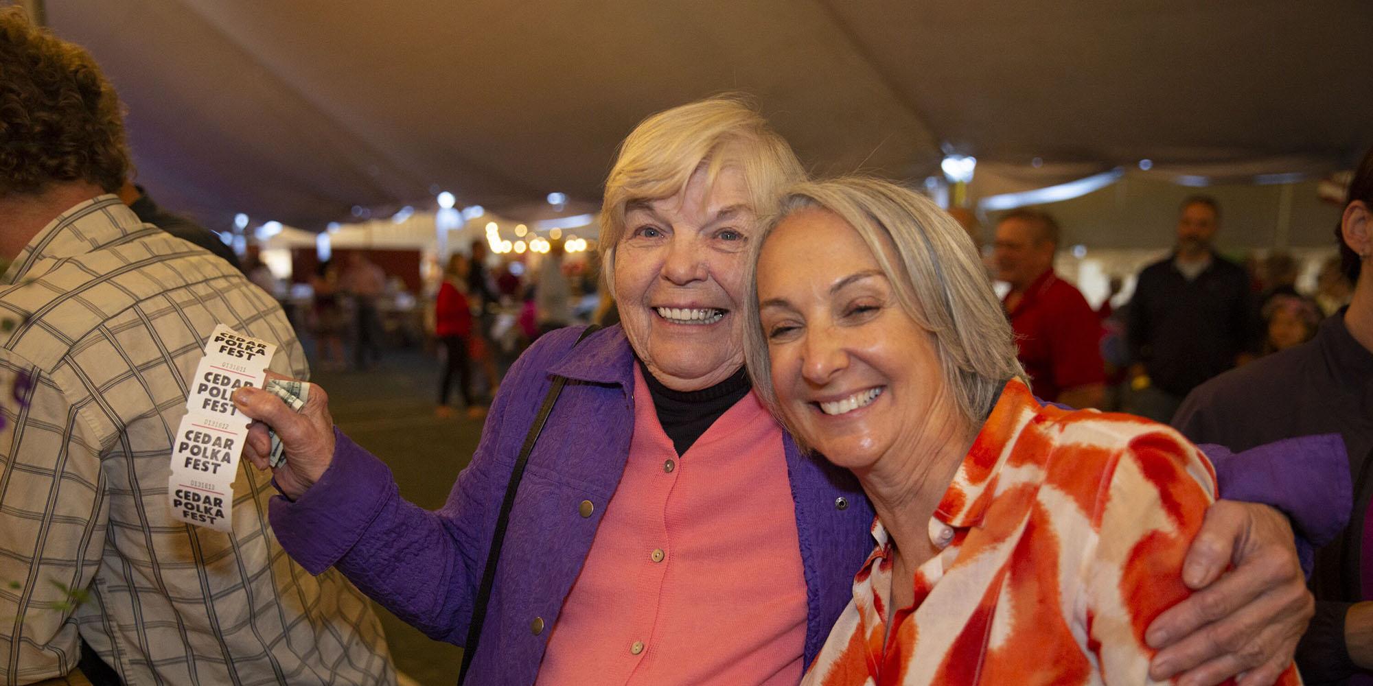 Ticket Ladies at Cedar Polka Fest
