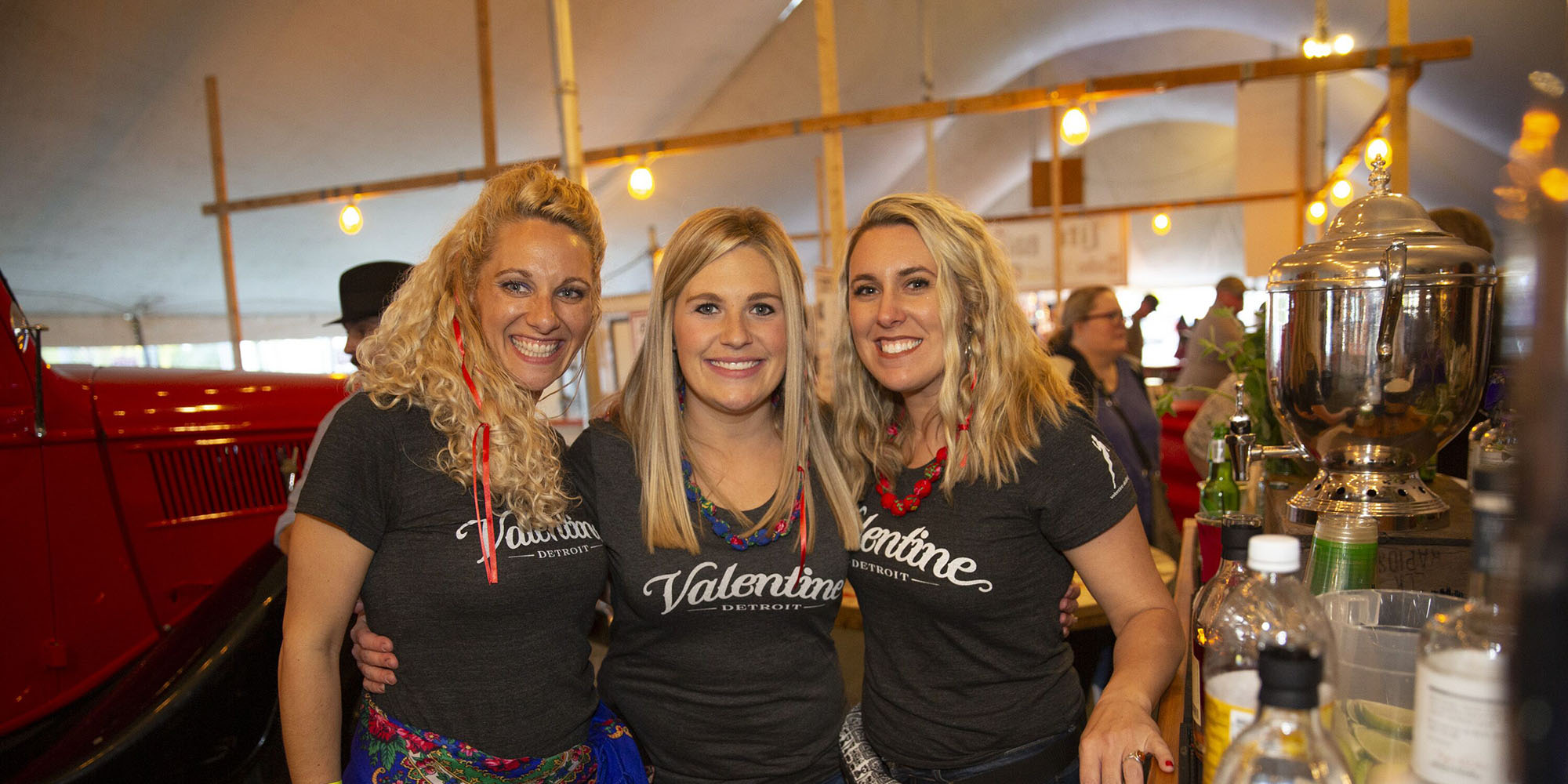 Valentine Distillery Girls at Cedar Polka Fest